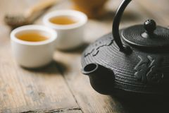 Traditional asian tea Stock Photos