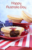Traditional Australian Meat Pies Royalty Free Stock Photos
