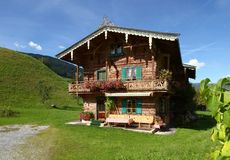 Traditional austria cottage Stock Photography