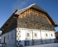 Traditional austrian farm house Royalty Free Stock Photography