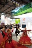 Traditional Azerbaijian dancers  Stock Photography