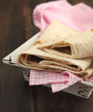 Traditional azeri lavash Royalty Free Stock Photography