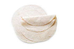 Traditional azeri lavash (bread) isolated Stock Photography