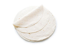 Traditional azeri lavash (bread) isolated Royalty Free Stock Image