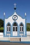 Traditional Azores catholic chapel in Santo Antao. Sao Jorge. Po Royalty Free Stock Photos