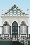 Traditional azores chapel. Imperio do Espiritu Santo. Terceira. Royalty Free Stock Photo