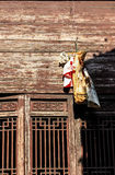 Traditional bacon of huizhou stock photo
