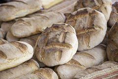 Traditional baked bread Stock Image