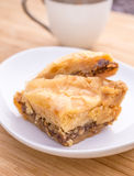 Traditional Baklava Dessert Stock Photography