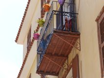Traditional balcony stock images