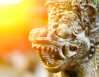 Traditional balinese architecture Royalty Free Stock Photos