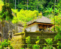 Traditional balinese architecture Stock Photo