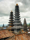 Traditional balinese architecture. The Pura Besakih temple Royalty Free Stock Photos