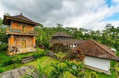 Traditional balinese architecture Royalty Free Stock Image