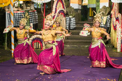 Traditional Balinese Dance Royalty Free Stock Images