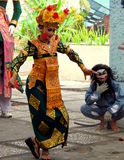 Traditional Balinese dancer Stock Image