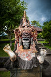 Traditional Balinese God statue in Central Bali temple. Indonesia Stock Photos