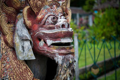 Traditional Balinese God statue in Central Bali temple. Indonesia Royalty Free Stock Photography