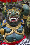 Traditional Balinese God statue in Central Bali temple. Indonesia Royalty Free Stock Images