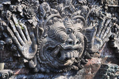 Traditional Balinese God statue - sculpture in Ubud Stock Photography
