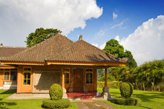 Traditional Balinese house. Royalty Free Stock Image
