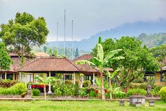 Traditional Balinese house Royalty Free Stock Photography