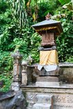 Traditional Balinese house of spirits Royalty Free Stock Image