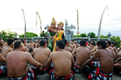 Traditional Balinese Kecak Dance Royalty Free Stock Photo