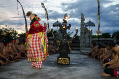 Traditional Balinese Kecak Dance Stock Images