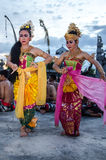 Traditional Balinese Kecak Dance Royalty Free Stock Photography