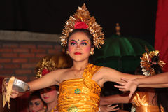 Traditional Balinese Legong dance Stock Images