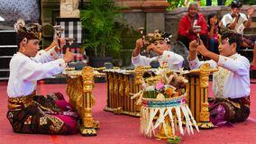Traditional Balinese music Royalty Free Stock Image