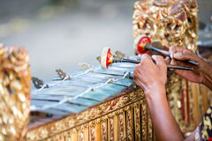 Traditional Balinese music instrument Stock Photo