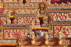 Traditional balinese musical percussion orchestra - Gamelan Royalty Free Stock Photography
