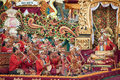 Traditional Balinese orchestra Gamelan Royalty Free Stock Photos