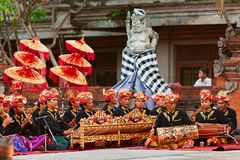 Traditional Balinese orchestra Gamelan Stock Photos