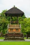 Traditional Balinese pavilion Stock Image