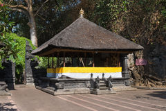 Traditional Balinese pavilion in a temple Royalty Free Stock Image