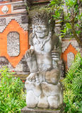 Traditional balinese sculpture Stock Photo