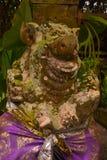 Traditional Balinese sculpture spirit stone. Ubud. Bali Indonesia Royalty Free Stock Photos