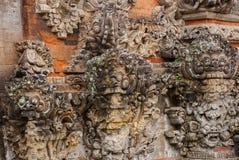 Traditional Balinese sculpture spirit stone. Ubud. Bali Indonesia Royalty Free Stock Images