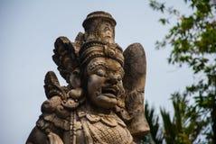 Traditional Balinese sculpture spirit stone. Ubud. Bali Indonesia Royalty Free Stock Photography