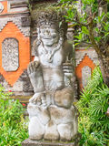 Traditional balinese sculpture Royalty Free Stock Photo