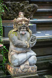 Traditional Balinese sculpture in Ubud Stock Photo