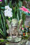 Traditional Balinese sculpture in Ubud, Bali Stock Images