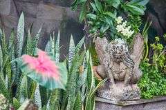 Traditional Balinese sculpture in Ubud, Bali Stock Photos