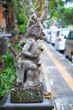 Traditional Balinese sculpture in Ubud Royalty Free Stock Photo