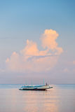 Traditional Balinese ships Jukung Stock Photos