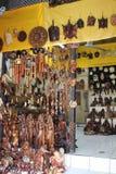 Traditional Balinese souvenir shop Stock Photo