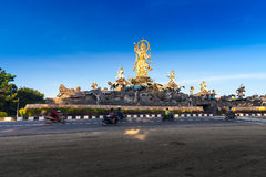 Traditional Balinese stone sculpture Royalty Free Stock Images